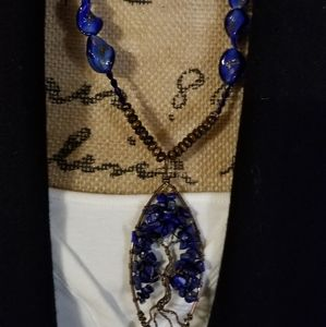 Great BOHO necklace.  Tree of life